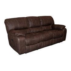 Parker Living Jupiter Sofa Dual Recliner Dark Kahlua