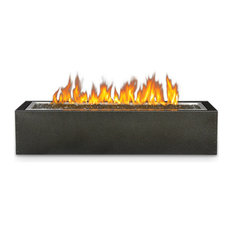 Patioflame Linear Gas Fire Pit, Rectangle, Electronic Ignition, Stainless Steel