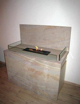 Bioethanolkamin aus indischem Sandstein