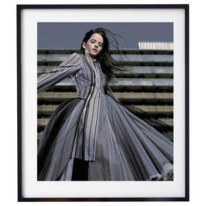 """Jump 002"" Fashion Photography Print, Framed, 58x71 cm"
