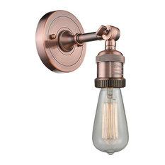 Innovations Bare Bulb 1-Light Sconce, Antique Copper
