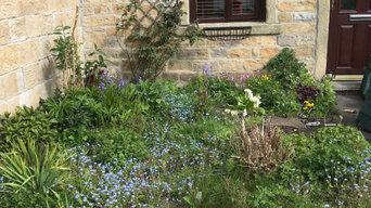Small Lancashire Garden