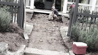 Before and after: Transforming a front entrance