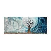 Twilight, Moonlight Landscape Metal Wall Art, Giclee on Metal