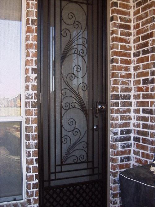 Wrought Iron Screen Doors