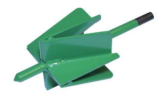 """TheMaxBit Gardening Tool, 4"""", Green"""