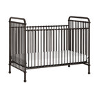 Casablanca Premiere Heirloom Iron Baby Crib Antique White