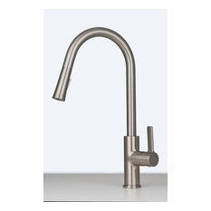Aria Pull-Down Kitchen Faucet, Brushed Nickel