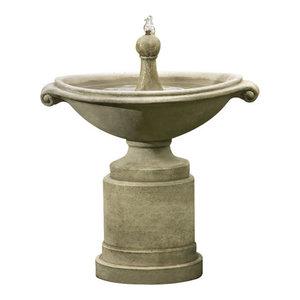 Borghese Garden Water Fountain Traditional Outdoor