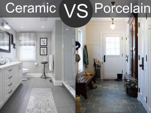 Porcelain Tile Vs Ceramic