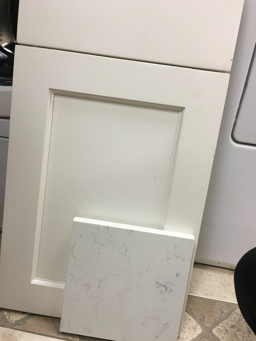 Has Anyone Installed This New Quartz Color What Is Your Opinion On Its Earance Do You Think It Goes With The Pearl Cabinet