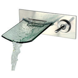 Inspirational Bathroom Sink Faucets Modern Wall Mount Bathroom Waterfall Widespread Sink Faucet