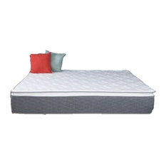 "Nova Furniture Group - 12"" Gel Memory Foam Hybrid Pillow Top Mattress, King - Mattresses"