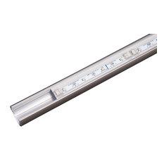 "Sempria LED Lighted Closet Rod, Satin Nickel, 48"", 2700 Kelvin"