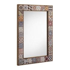 GEESE - Alicante Tiled Wall Mirror, 83x113 cm - Wall Mirrors