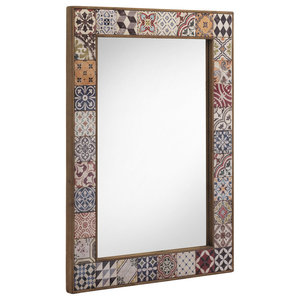 Alicante Tiled Wall Mirror, 83x113 cm