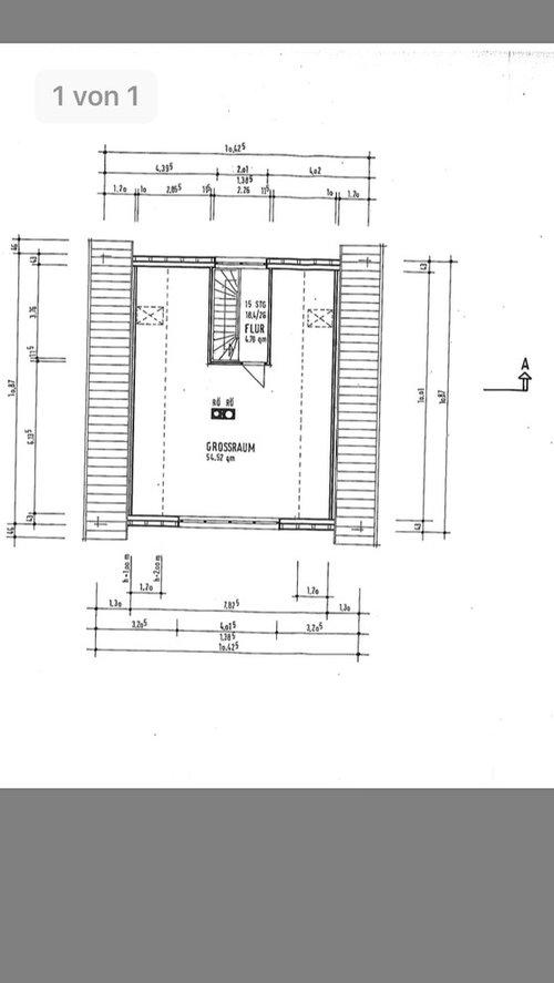 Bitte Um Tipps Wie Es Am Besten Möglich Ist,dieses Dachgeschoss In Drei  Gleich Große Räume Mit Tür Zu Teilen. Dankeschön