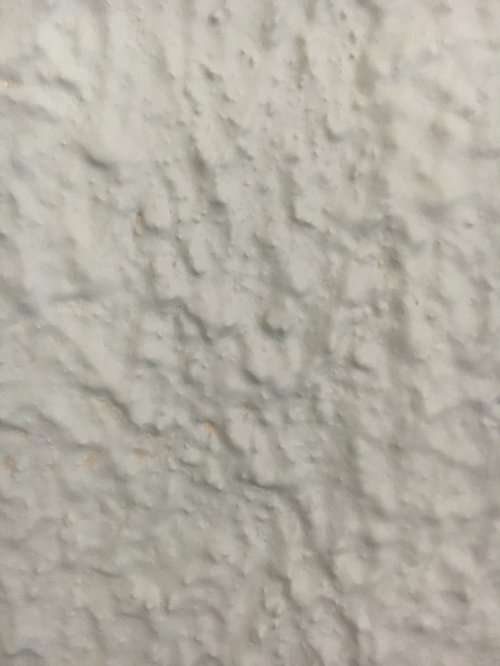 Ugly Popcorn Textured Paint On Walls