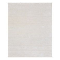 Pasargad Edgy Collection Hand Tufted Bamboo Silk And Wool Beige Area Rug 5