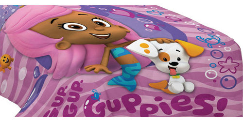 Franco Manufacturing Company Inc Bubble Guppies Fun Twin Single Bed Comforter Kids Bedding