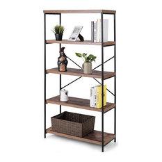 Beautiful Five-Tier Bookcase Storage Rack