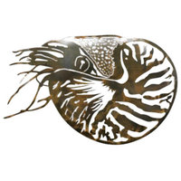 Nautilus Patina Steel Wall hangings