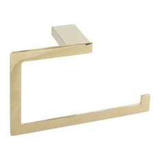 Parker Towel Ring, French Gold