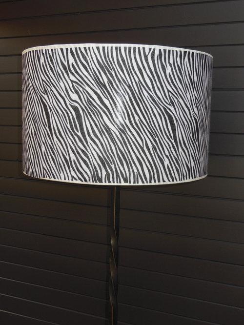 diy cr er un abat jour z bre. Black Bedroom Furniture Sets. Home Design Ideas