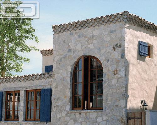 Tuscan Style Garage Door, Rustic Gates & Architectural Exterior ...