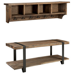 Rustic Accent And Storage Benches by Bolton Furniture, Inc.