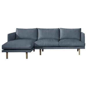 Ottilie Chaise Sofa, Windsor, 3 Seater, Left Hand Facing