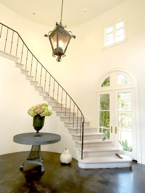 Houzz Elegant Foyers : Foyer table houzz