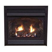 """Premium 32"""" Vent-Free Thermostat Control Natural Gas Fireplace"""