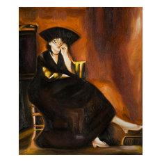 """Berthe Morisot With a Fan"", Unframed Loose Canvas"