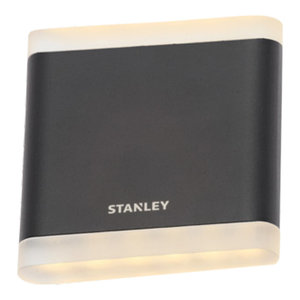 Stanley Moselle Outdoor LED Flush Up and Down Wall Light, Small
