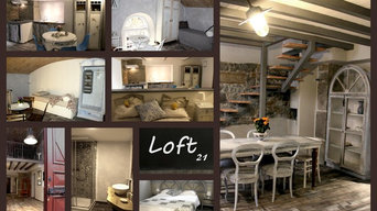 Loft21 rooms to rent design