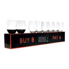Riedel O Cabernet/Merlot Buy 8 Pay 6 Glasses, Set of 8