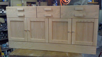 Custom Buffet to Match exesting China Cabinet