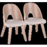 LumiSource Ellen Dining Chair, Set of 2