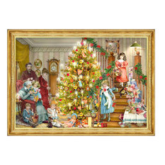 Alexander Taron - Sellmer Advent, Victorian Christmas Tree - Holiday Decorations