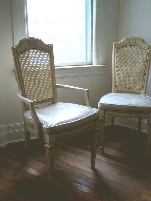 Antique Cane Chairs - Dining Chairs