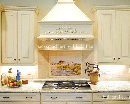 tuscan and italian tile mural stone backsplash tile murals. Interior Design Ideas. Home Design Ideas