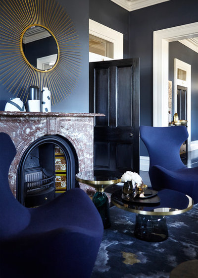 Eclectic  by Louise Walsh Interior Design & Decoration