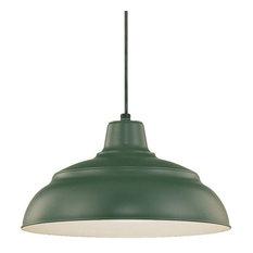 50 most popular green pendant lights for 2018 houzz millennium lighting incorporated millennium lighting rwhc14 r series 1 light warehouse pendant pendant lighting aloadofball Images