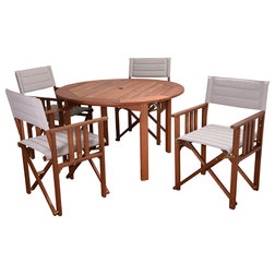 Craftsman Outdoor Dining Sets by International Home Miami Corp