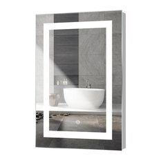 Mod Kent Led Mirror With Touch Sensor 24 X36 Bathroom Mirrors