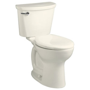 """Traditional Vitreous China 2 Piece Toilet, Linen, 17.38""""x30.13""""x30.38"""""""