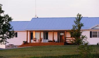 Home Studio Front Porch & Steel Roof
