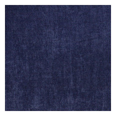 Navy Blue Smooth Velvet Upholstery Fabric By The Yard