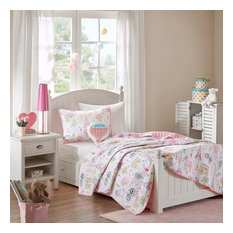 Mi Zone Kids Coverlet Set in Pink Finish MZK13-109